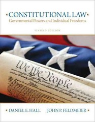 Constitutional Law 2nd edition 9780135109502 0135109507