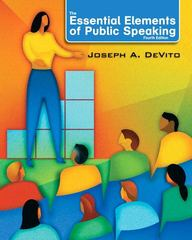 The Essential Elements of Public Speaking 4th edition 9780205753697 0205753698