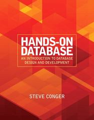 Hands-On Database 1st edition 9780136108276 013610827X