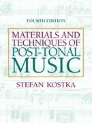 Materials and Techniques of Post Tonal Music 4th Edition 9781317346555 1317346556
