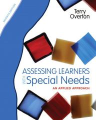 Assessing Learners with Special Needs 7th Edition 9780131367104 0131367102