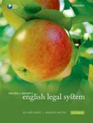 Walker & Walker's English Legal System 11th edition 9780199588107 0199588104