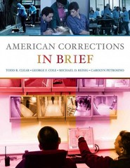 American Corrections in Brief 1st edition 9780495808657 0495808652