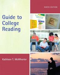 Guide to College Reading 9th edition 9780205823246 0205823246