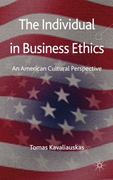 The Individual in Business Ethics 0 9780230285538 0230285538