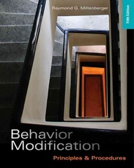 Behavior Modification 5th edition 9781111306113 1111306117