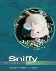 Sniffy the Virtual Rat Lite, Version 3.0 3rd Edition 9781133387794 1133387799