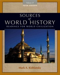Sources of World History, Volume II 5th edition 9780495913184 0495913189