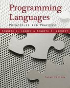 Programming Languages 3rd edition 9781133387497 1133387497