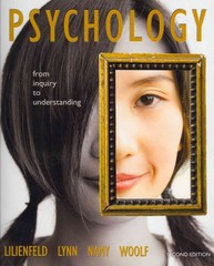 Psychology 2nd edition 9780205001606 0205001602