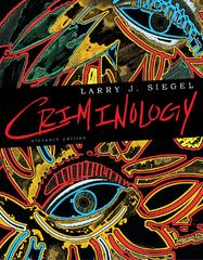 Criminology 11th edition 9780495912460 0495912468