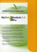 MyDietAnalysis Student Access Code Card 1st Edition 9780321733900 0321733908