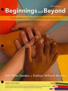 Cengage Advantage Books: Beginnings & Beyond: Foundations in Early Childhood Education 8th Edition 9781111357375 1111357374