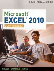 Microsoft Excel 2010 1st edition 9781439079010 1439079013