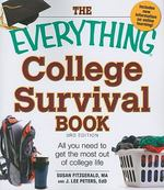 The Everything College Survival Book 3rd Edition 9781440512070 1440512078