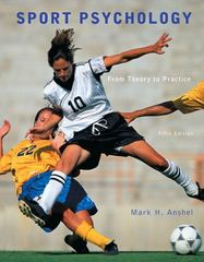 Sport Psychology 5th Edition 9780321732491 0321732499
