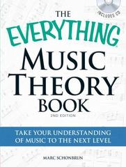 Music Theory Book 2nd Edition 9781440511820 1440511829