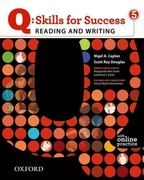 Q: Skills for Success 5 Reading & Writing Student Book with Student Access Code Card 1st Edition 9780194756426 0194756424