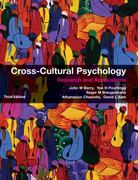 Cross-Cultural Psychology 3rd Edition 9780511855764 0511855761
