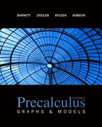 Precalculus: Graphs & Models with Student Solutions Manual 3rd Edition 9780078187780 0078187788
