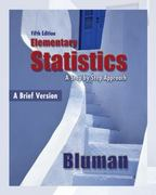 Elementary Statistics, A Brief Version with MathZone 5th edition 9780078004759 0078004756