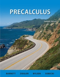Combo: Precalculus with MathZone Access Card 7th edition 9780077988272 0077988272