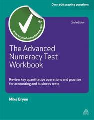 The Advanced Numeracy Test Workbook 2nd edition 9780749462260 0749462264