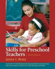 Skills for Preschool Teachers 9th Edition 9780130388407 0130388408