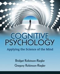 Cognitive Psychology 3rd edition 9780205033645 0205033644
