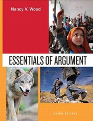 Essentials of Argument 3rd Edition 9780205827022 0205827020