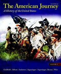 The American Journey 6th edition 9780205010578 0205010571
