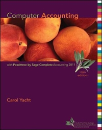 Computer Accounting With Peachtree Complete 2011, Release 19.0 15th edition 9780078110986 007811098X