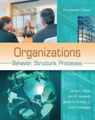 Organizations 14th Edition 9780078112669 0078112664