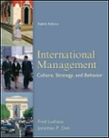 International Management Culture  Strategy and Behavior