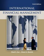 International Financial Management 6th edition 9780078034657 0078034655