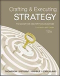 Crafting andamp  Executing Strategy  The Quest for Competitive Advantage   Concepts and Cases