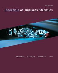Essentials of Business Statistics 4th edition 9780073401829 007340182X