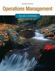 Operations management 11th edition rent 9780073525259 chegg operations management11th william stevenson fandeluxe Image collections