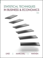 Statistical Techniques in Business and Economics 15th Edition 9780073401805 0073401803