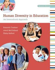 Human Diversity in Education 7th Edition 9780078110276 0078110270