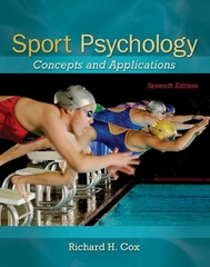Sport Psychology 7th Edition 9780078022470 0078022479