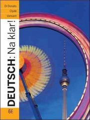 Deutsch: Na klar! 6th Edition 9780073386331 0073386332