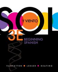 Sol y viento: Beginning Spanish 3rd edition 9780077433178 0077433173