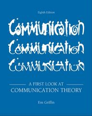 A First Look at Communication Theory 8th edition 9780073534305 0073534307