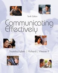 Communicating Effectively 10th edition 9780073534336 0073534331