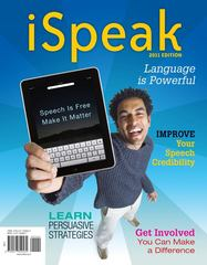 iSpeak: Public Speaking for Contemporary Life: 2011 Edition 4th edition 9780077309534 0077309537