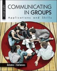 Communicating in Groups 8th edition 9780073534275 0073534277