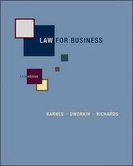 Law for Business 11th edition 9780073377711 0073377716