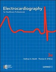 Electrocardiography for Healthcare Professionals 3rd Edition 9780073374352 0073374350