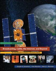 Broadcasting, Cable, the Internet, and Beyond 7th edition 9780073512037 0073512036